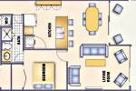 [Floorplan with 924 sq.ft]